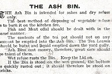 The Ash Bin in 1939