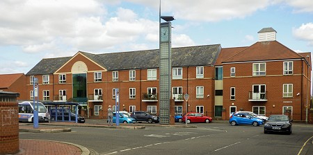 Elizabeth Court Council Housing in Louth