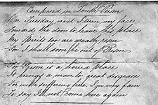 Poem Composed in Louth's House of Correction by 'Henry Friday