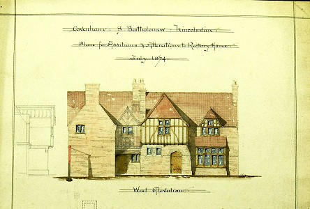 Plans for alterations to Covenham Rectory