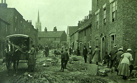 James Street after the flood