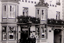 David Robinson, Masons Arms Hotel and William Brown